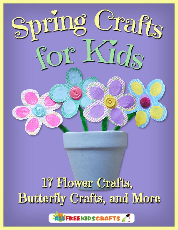 FREE Spring Crafts For Kids eBook!