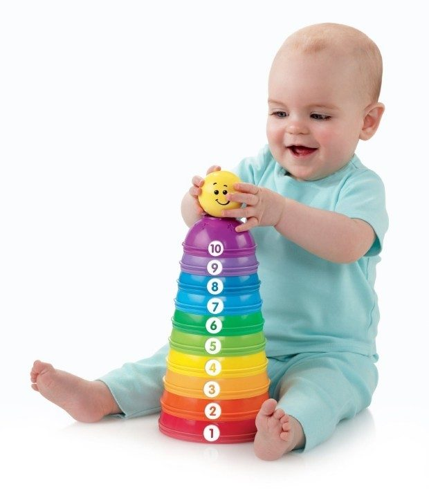 Fisher-Price Brilliant Basics Stack & Roll Cups Now Just $5.96!