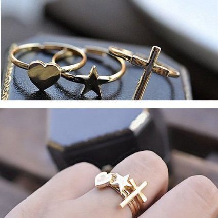 Set of 3 Stacking Rings Only $0.94!