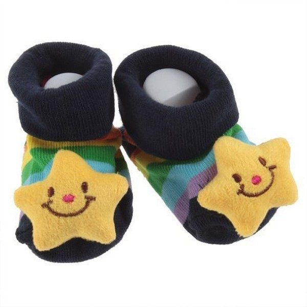 Star Baby Booties