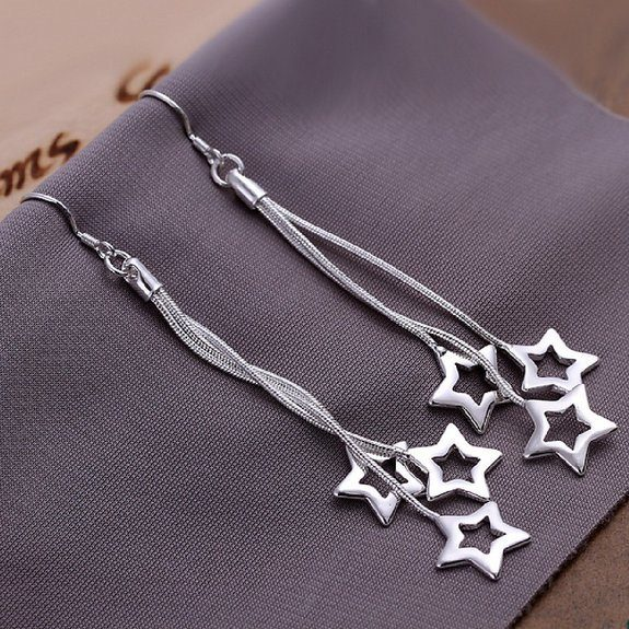 3 Star Drop Earrings Only $3.33 Plus FREE Shipping!