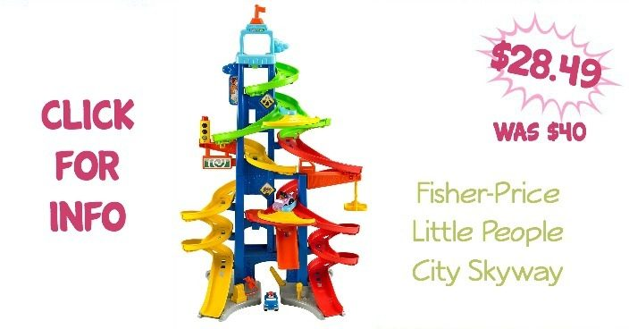 Fisher-Price Little People City Skyway Only $28.49! (Was $40)