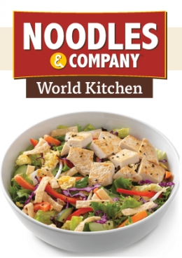FREE New Summer Entree Salad At Noodles & Company!