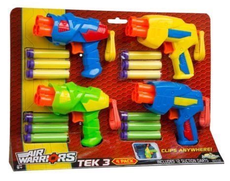 Air Warriors Tek 3 Blaster Four Pack Just $12.60! (Reg. $18)