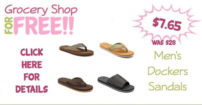 Men's Dockers Sandals Just 7.65! (Was $28)