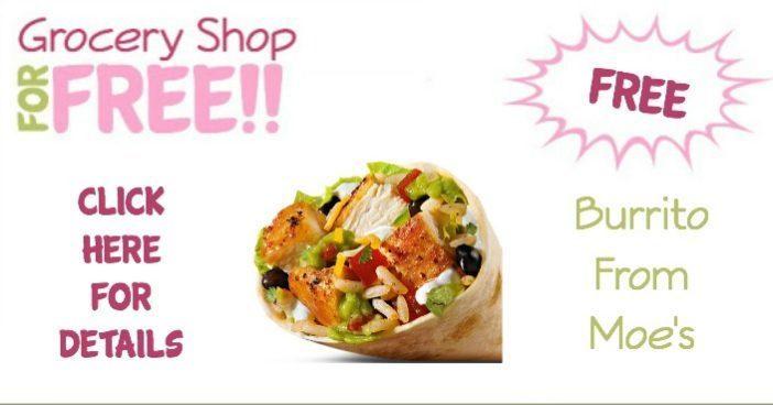 FREE Burrito From Moe's!