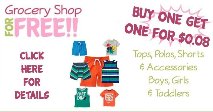Tees, Polos, Shorts & More – Buy 1 Get 1 For 8¢!