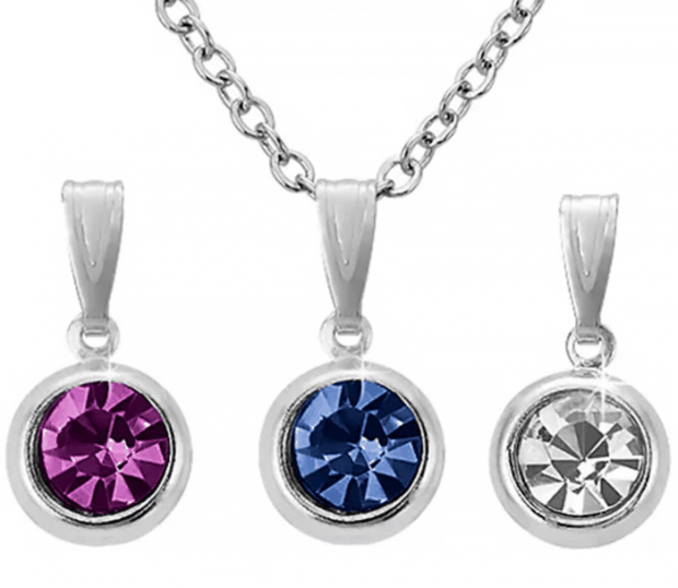 Interchangeable Pendant 4 Pc Necklace Set Only $4.99 Shipped!