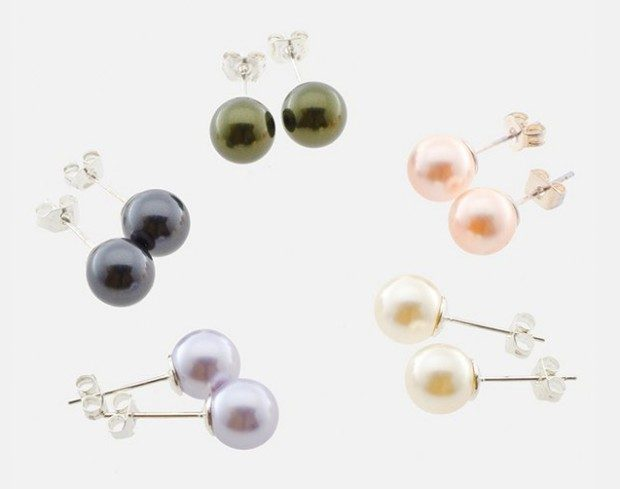 Swarovski Elements Pearl Studs Only $4.99 Plus FREE Shipping!