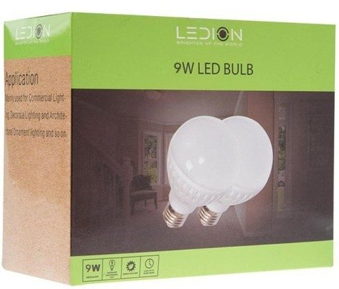 9W/75 Lumens LED Light Bulbs - 4 Pk Only $13.99!