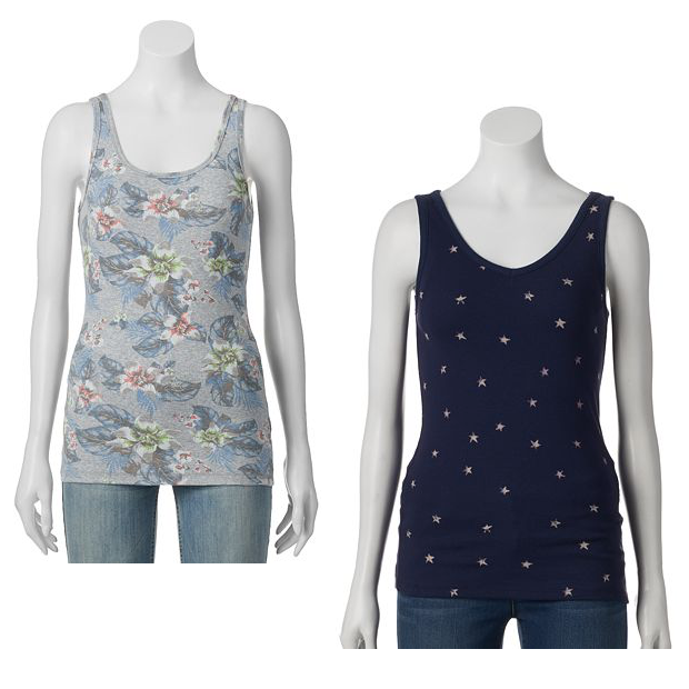 Tank Tops As Low As $3.56 At Kohl's!