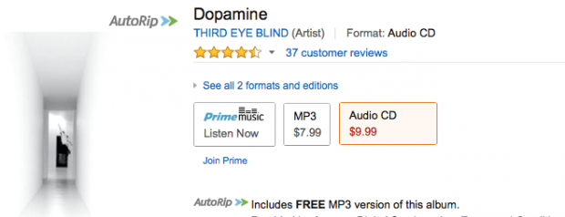 Third Eye Blind - Dopamine - Digital Download Or CD!