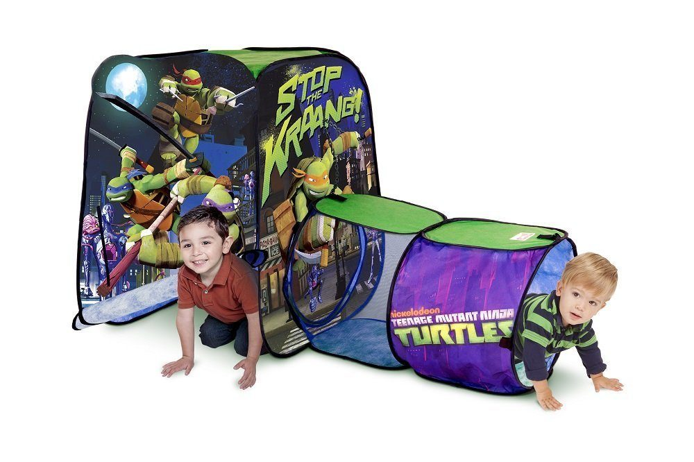 teenage mutant ninja turtles tunnel and playhut