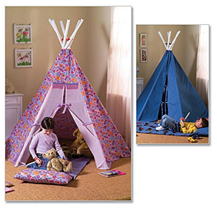 Butterick Patterns B4251 Teepee and Mat Just $8.82 Down From $15.50!