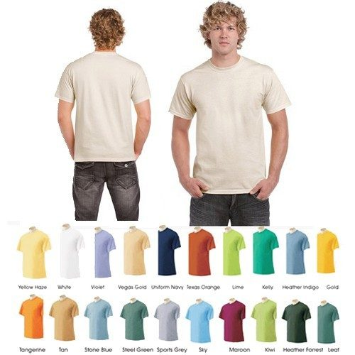 Men's Short-Sleeve 100% Cotton Crew-Neck Tees 12 Pk Only $23.99 Ships FREE!