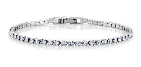 15Ct Tw Crystal Classic Tennis Bracelet Only $5.99 Plus FREE Shipping!