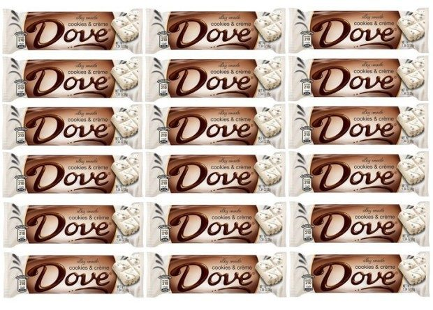 Dove Silky Smooth Cookies and Creme - 18 Bars Just $10.79 PLUS FREE Shipping!