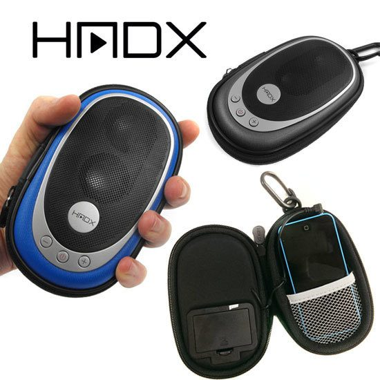 HMDX Go Portable Speaker - Available In Blue and Silver Only $5.49 Shipped!