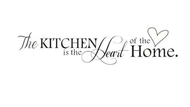 The Kitchen is the Heart of the Home Vinyl Wall Decal Just $2.09 Shipped!