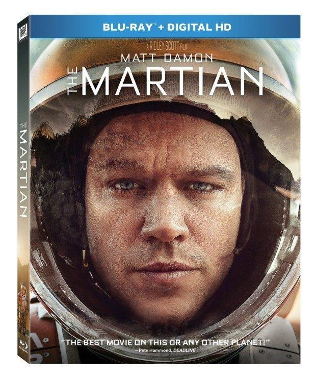 The Martian [Blu-ray + Digital HD] Just $15! (Reg. $40)