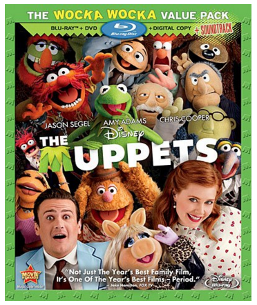 The Muppets (Three-Disc Blu-ray/DVD/Digital Copy ) Just $11 Down From $50!