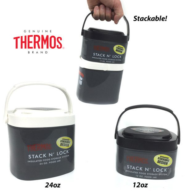 Thermos Stack N' Lock Insulated Food Storage System Just $6.49!  Plus FREE Shipping!