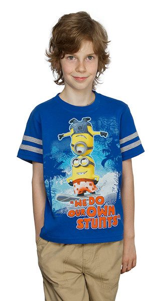 """We Do Our Own Stunts"" Kids' Tee Only $8.45!"