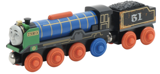 Thomas And Friends Wooden Railway Patchwork Hiro Just $9.99!