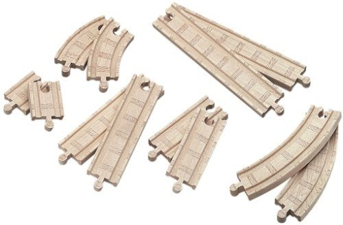 Thomas And Friends Wooden Railway - Straight And Curved Expansion Pack Only $8.44! (reg. $24.99)