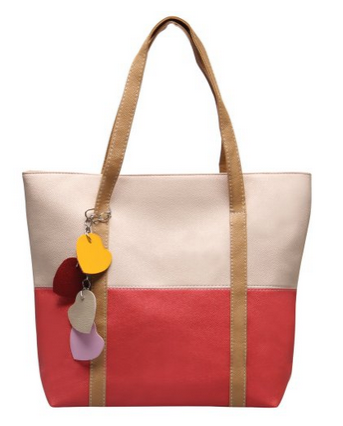 Hynes Eagle Simple Leather Tote Only $12.99!