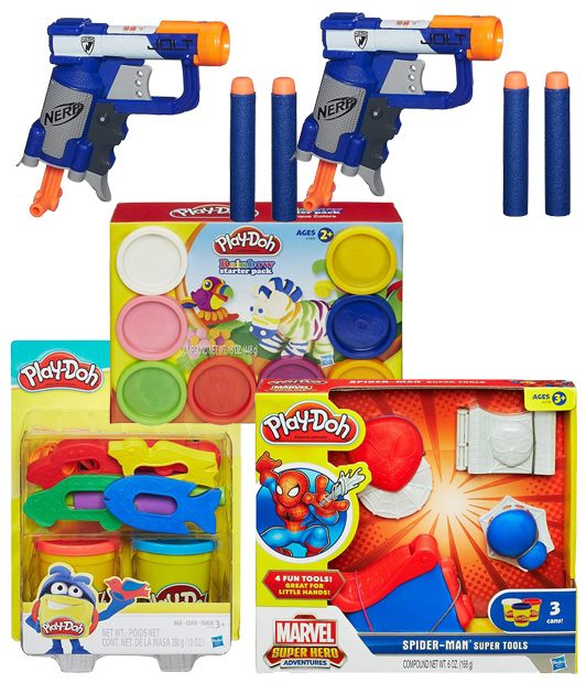 Nerf & Play-Doh Toys Only $2.90! Down From Up To $17.99!