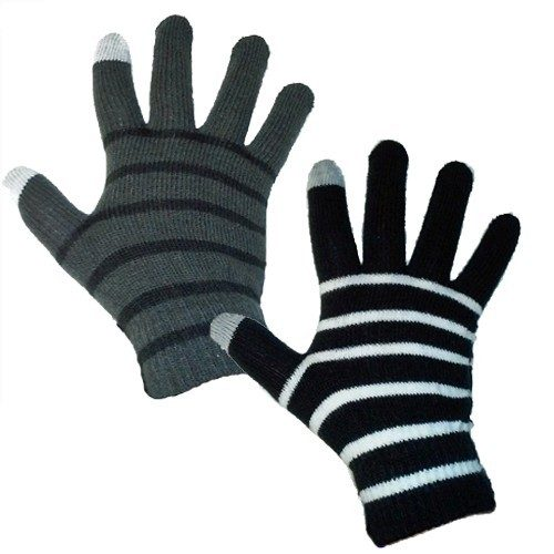 Touchscreen Texting Gloves With Stripes Just $2.51 At GearXS! Ships FREE!