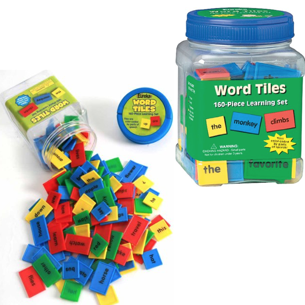 Tub Of Word Tiles Only $10.17!