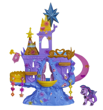 My Little Pony Princess Twilight Sparkle's Kingdom Playset Just $16.76 Down From $27!