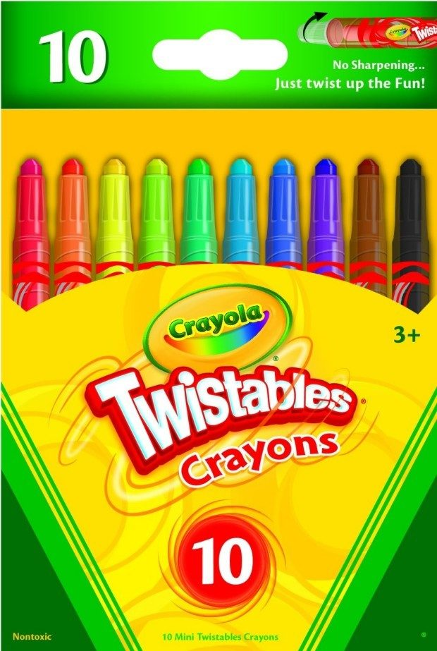 Crayola Mini Twistables Crayons 10 Pk Just $1.97!  Down From $5!