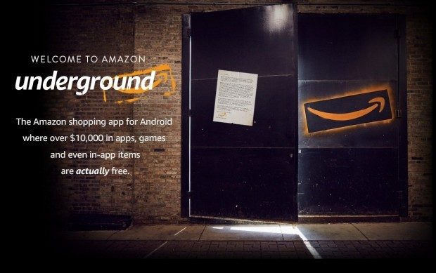FREE Amazon Underground App Gives FREE Access To > $10000 In Android Apps!