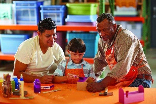 Free home depot kids workshop for Kids crafts at home depot