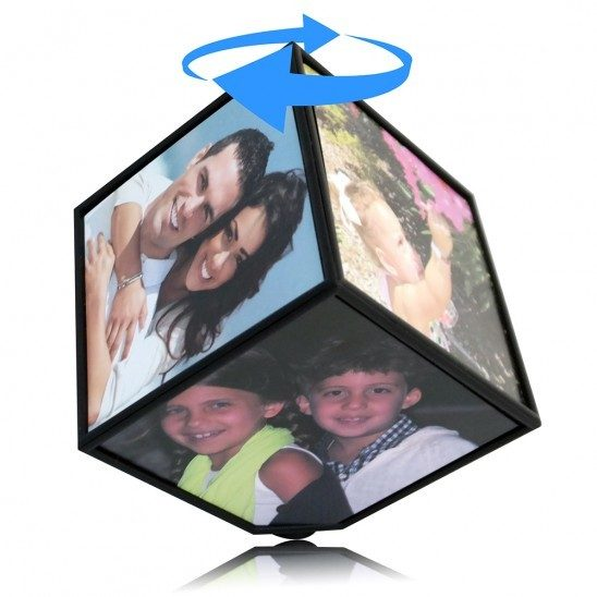 VIBE 360 degrees Spinning Photo Cube Just $7.99! Down from $29.99! Ships FREE!