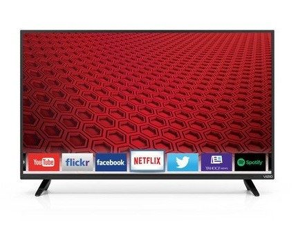 VIZIO 40-Inch 1080p Smart LED TV $299.99 (Was $380)!