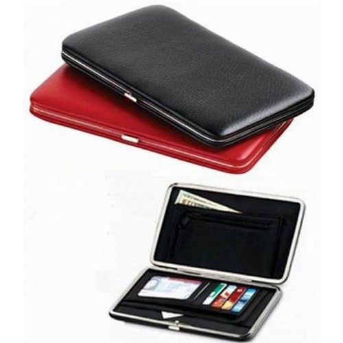 Ladies High Fashion Leatherette Slim Clutch Wallet Just $6.99! Down From $29.99! Ships FREE!
