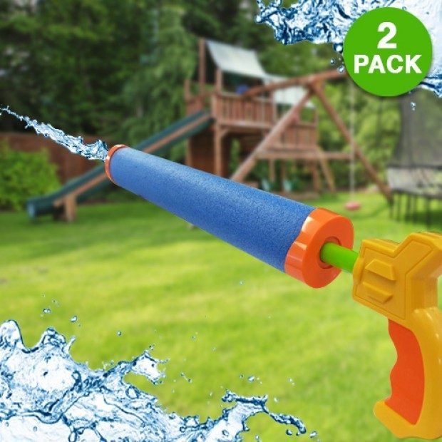 BANZAI Blast Force Water Cannon Foam Blaster 2 Pk Only $7.99 + FREE Shipping!