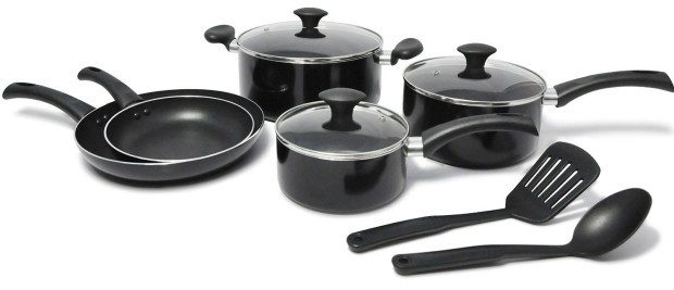 10 Piece WearEver Cookware Set Only $32.68! (Reg. $140!)
