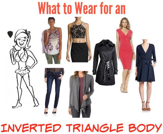 Fashion Advice: What To Wear For An Inverted Triangle Body!