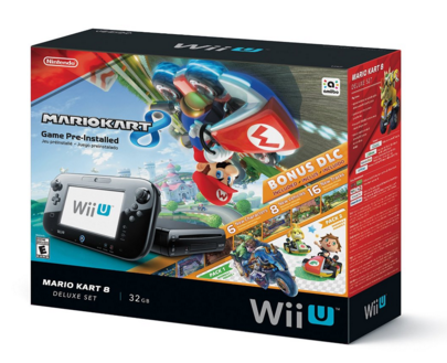 Nintendo Wii U 32GB Mario Kart 8 (Pre-Installed) Deluxe Set Just $250 Down From $300!