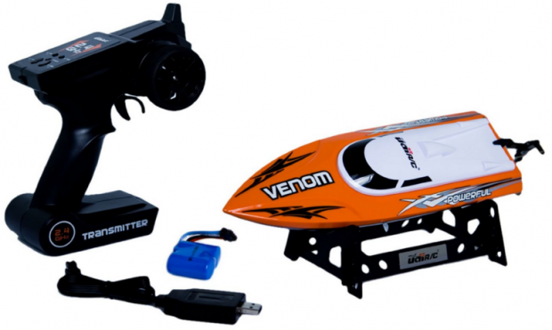 Udirc Venom 2.4GHz High Speed Remote Control Electric Boat (Orange) Just $36 Down From $110!
