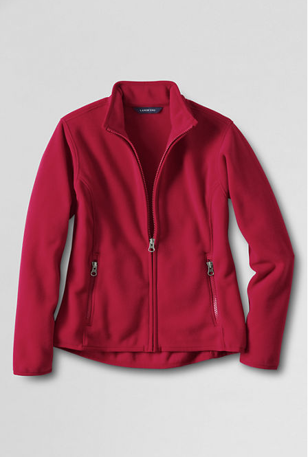 50% Off Outerwear! Women's Fleece Jacket Now Just $22.50!