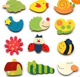 Fun Wooden Animal Magnets Only $1.96 + FREE Shipping!