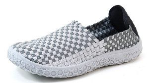 Silver Woven Shoe Only 19.99!