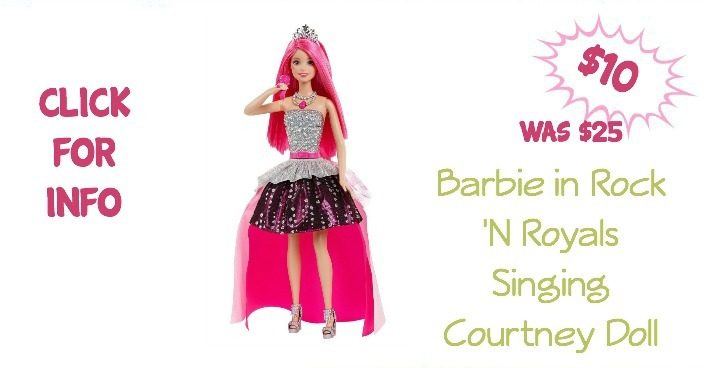 Barbie in Rock 'N Royals Singing Courtney Doll Just $10! (reg. $25)