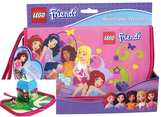 LEGO Friends ZipBin Heartlake Wristlet Just $6.95! (Reg. $15)